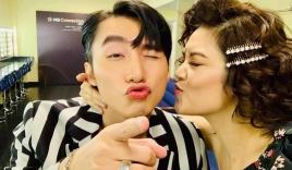 Sơn Tùng M-TP và đàn chị Thu Phương diễn lại cảnh hôn sau 4 năm tái ngộ