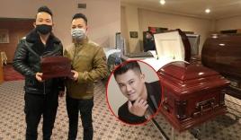 Những hình ảnh mới nhất về tang lễ của cố nghệ sĩ Vân Quang Long