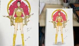 Trang phục dân tộc '7 sổ đỏ' để Khánh Vân thi Miss Universe 2020 gây sốc