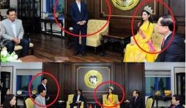 Hoa hậu Đỗ Thị Hà về thăm trường được ngồi ghế VIP, thầy cô cúi người khúm núm: Tất cả đều là hiểu lầm