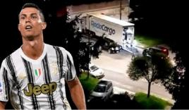 Ronaldo bí mật vận chuyển dàn siêu xe 500 tỷ ra khỏi Italy lúc nửa đêm