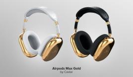 Choáng ngợp với tai nghe AirPods Max mạ vàng 18K dành cho giới siêu giàu