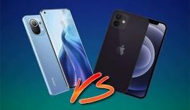 Chi phí sản xuất Xiaomi Mi 11 ngang iPhone 12 mà giá rẻ hơn hơn rất nhiều