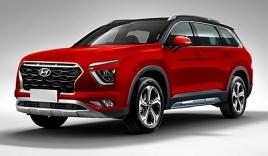 Hyundai lộ SUV 7 chỗ mới toanh ngang ngửa Huyndai Santa FE, cạnh tranh với Toyota Rush
