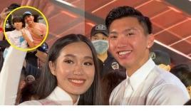 Lại lộ thêm loạt bằng chứng hẹn hò cực ngọt ngào của Đoàn Văn Hậu và Top 10 Hoa hậu Việt Nam 2020