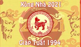 Xem tuổi xông đất cho gia chủ Giáp Tuất 1994 trong năm Tân Sửu 2021