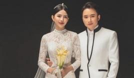 Sau hôn lễ, vợ chồng Phan Mạnh Quỳnh tung bộ ảnh cưới cực phẩm: Cô dâu lộ đường cong hút mắt, góc nghiêng 'thần thánh' khó ai sánh bằng
