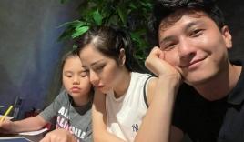 Huỳnh Anh khoe khoảnh khắc tình cảm bên con riêng của bạn gái hơn 6 tuổi
