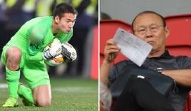 HLV Park Hang Seo không triệu tập thủ thành Việt kiều vào danh sách ĐT Việt Nam