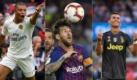 Mbappe vượt mặt cả Messi lẫn Ronaldo trong danh sách cầu thủ đắt giá nhất thế giới