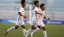 Đánh bại U22 Malaysia, U22 Campuchia lần đầu tiên vào bán kết SEA Games