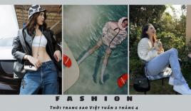 Thời trang sao Việt tuần qua: Sơn Tùng M-TP diện đồ bơi lạ mắt, Ngọc Trinh 'dát' đồ hiệu gần nửa tỷ