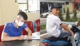 Nam thanh niên buông 2 tay, dùng 1 chân lái xe ở Hải Dương đã bị công an triệu tập, xử phạt