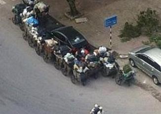 Những cách trừng phạt ô tô đỗ ẩu