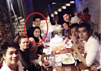 Lần đầu lộ diện bạn trai Hoa hậu Diễm Hương