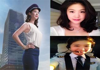 Cận cảnh vẻ đẹp của nữ phi công Việt gây sốt cộng đồng mạng