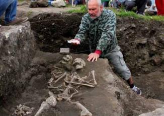 Phát hiện ngôi mộ chôn cất