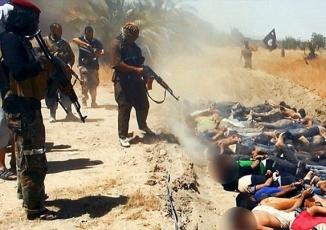 Phát hiện ngôi mộ tập thể chôn 230 thi thể bị IS thảm sát