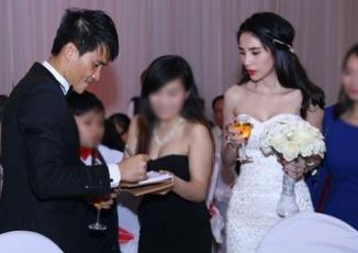 Giải trí - Sao Việt dở khóc dở cười vì đám cưới gặp sự cố