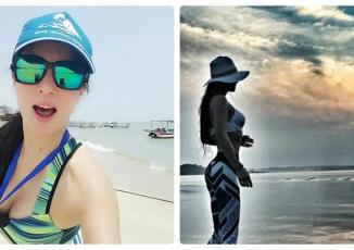 Nhan sắc và thân hình nóng bỏng của bà mẹ 50 tuổi sánh ngang hot girl 20