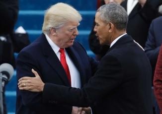 Những hình ảnh ấn tượng của Tổng thống Donald Trump trong ngày nhậm chức