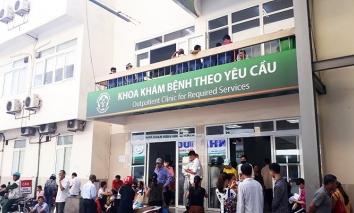 Đề nghị Bệnh viện Bạch Mai dừng việc tăng giá khám, chữa bệnh theo yêu cầu