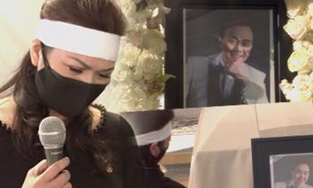 Thắt lòng khoảnh khắc vợ cố nghệ sĩ Chí Tài đứng khóc nức nở và câu chuyện phía sau