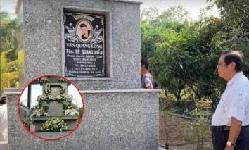 Lễ an táng Vân Quang Long hoàn tất, cố ca sĩ đã yên nghỉ tại quê nhà Đồng Tháp sau gần 1 tháng ra đi