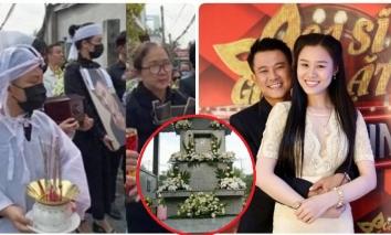 Vợ hai không được cầm di ảnh Vân Quang Long, lặng lẽ trong lễ an táng của chồng sau ồn ào bị tố giả tạo, tham tiền, không được nhà chồng công nhận