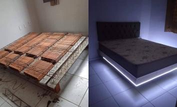 Chiếc giường vĩnh cửu bằng bê tông, siêu chắc chắn nhưng khiến CĐM ngao ngán vì 1 lí do