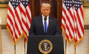 Trump chúc phúc cho chính quyền mới nhưng quyết không nhắc tên Biden