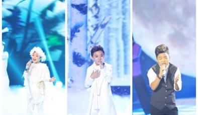 Giọng hát Việt nhí 2015: Công Quốc, Tiến Quang, Hồng Minh vào Chung kết
