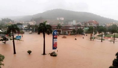 Mưa lớn liên tục tại Quảng Ninh khiến 2 người thương vong