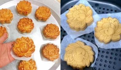 Cách làm bánh trung thu bằng nồi chiên không dầu: 4 bước cực đơn giản, dễ dàng
