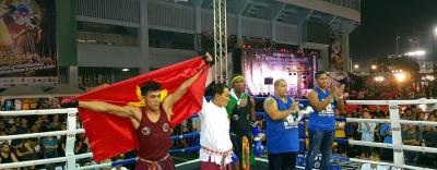 """""""Độc cô cầu bại"""" Nguyễn Trần Duy Nhất lọt vào chung kết ngay trên quê hương Muay Thái"""
