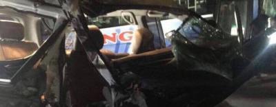 Mô tô va chạm với xe cứu thương, 3 người tử vong và 3 người nguy kịch