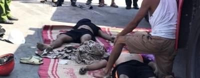 Bình Định: 3 thủy thủ chết ngạt sau khi chui xuống hầm tàu dọn mật rỉ