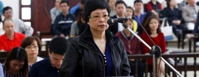 Cựu đại biểu Quốc hội Châu Thị Thu Nga bị giữ nguyên án chung thân