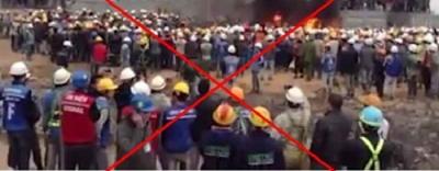 """Thái Nguyên bác tin đồn """"công nhân Việt Nam đốt khu công nghiệp Trung Quốc"""""""