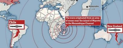 Bí ẩn hiện tượng địa chấn rung chuyển cả hành tinh trong 20 phút đã có lời giải