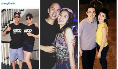 Những hình ảnh đời thường hạnh phúc của Hà Tăng và Louis Nguyễn