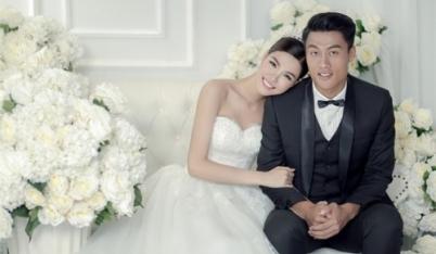 Kỳ Hân - Mạc Hồng Quân tung ảnh cưới ngọt ngào