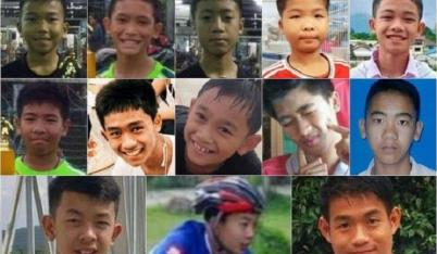 Các cầu thủ nhí Thái Lan sụt 2kg nhưng sức khỏe vẫn tốt