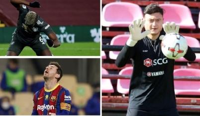 Đại diện của Đặng Văn Lâm phản bác thông tin thiếu chuyên nghiệp; Messi đối mặt án phạt 'kịch khung' vì đánh người