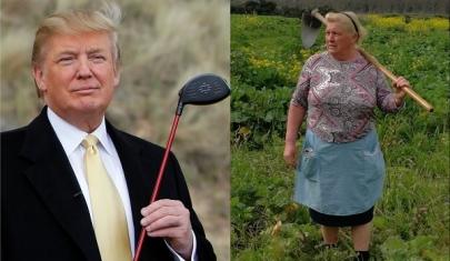 Người nông dân bỗng nổi tiếng vì giống hệt Tổng thống Trump
