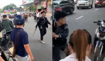 Hà Nội: Triệu tập nam thanh niên hành xử như giang hồ với bà bầu sau va chạm giao thông