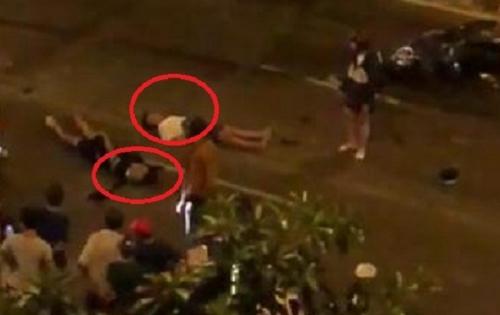 Video: Hiện trường vụ tai nạn trong lúc đi