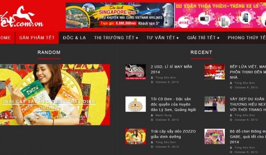 Tet.com.vn – Cổng thông tin đầy đủ nhất về Tết 2014