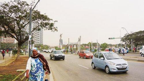 Đại lộ mang tên Bác ở châu Phi