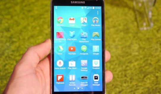 Trên tay Galaxy S5 - Siêu phẩm đến từ Samsung